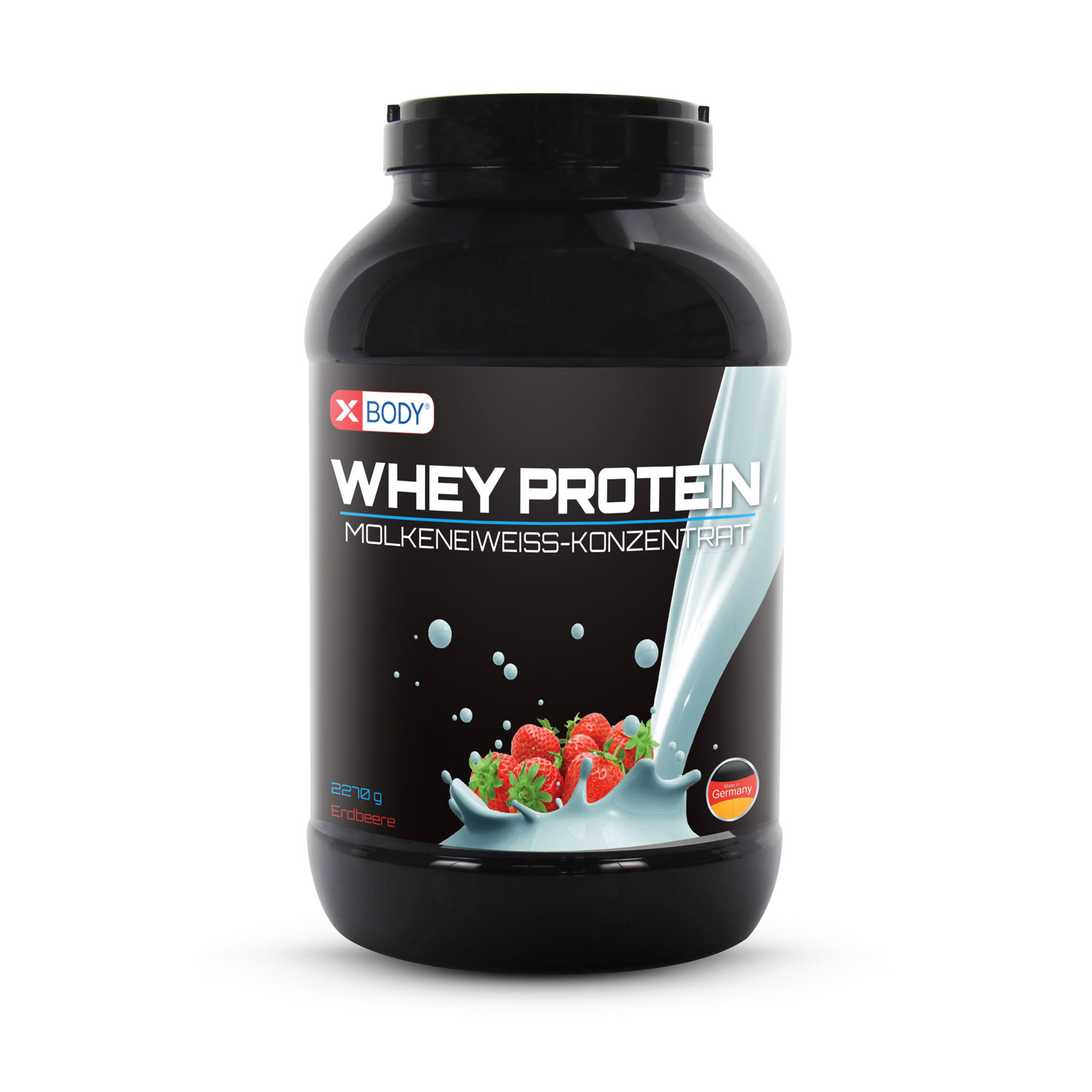 Whey Protein Eiweiss build n' burn - Erdbeere - 2270g